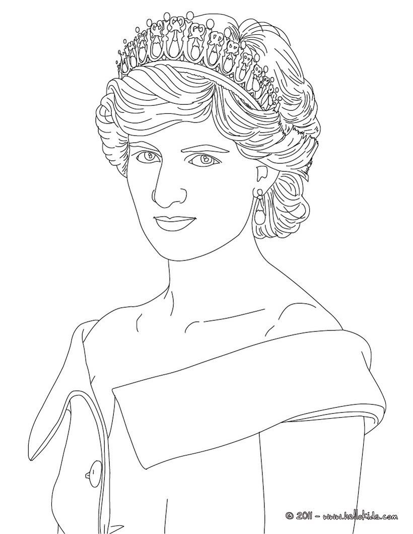 Ausmalbilder Queen Elizabeth Image Gallery