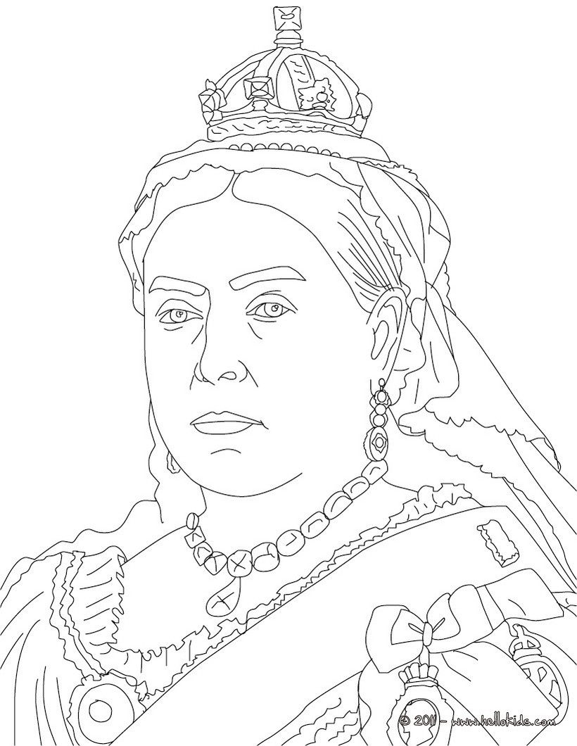 Königin Elizabeth Ii Zum Ausmalen Zum Ausmalen De Hellokids Com