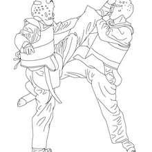 Kampfsport Zum Ausmalen Ausmalbilder Ausmalbilder Ausdrucken