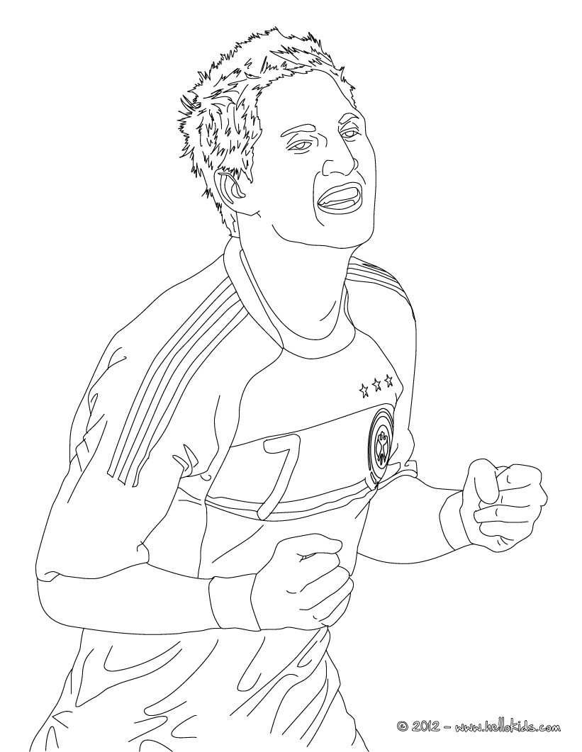 Malvorlagen Fußball Messi | My blog