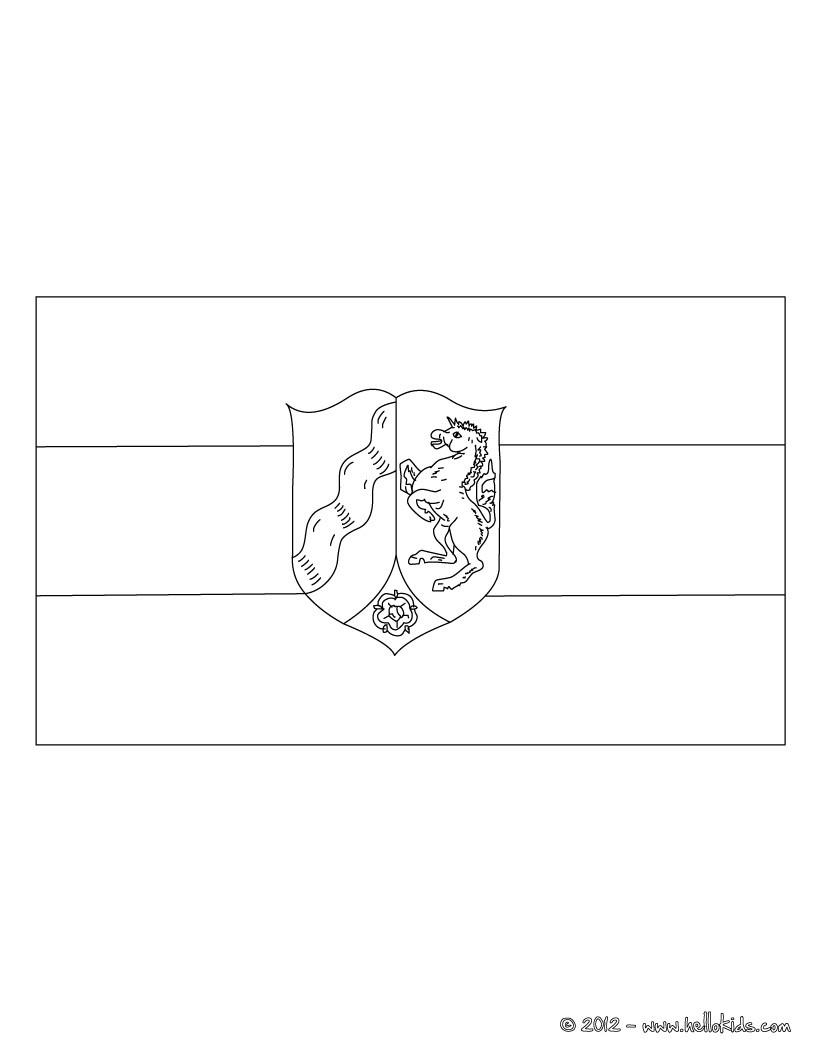 Nordrhein Westfalen Flagge Zum Ausmalen Zum Ausmalen De Hellokids Com
