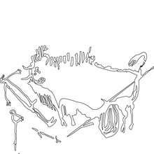 Homo Sapiens Höhlenmalerei