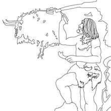 Homo Sapiens malt Wand an