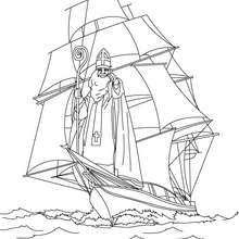 Sankt Nikolaus an Bord