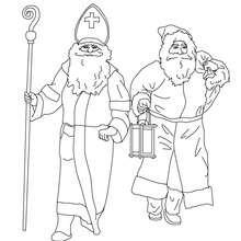 Sankt Nikolaus und der Weihnachtsmann