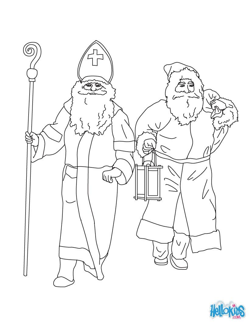 Fein Ausmalbilder Zum Ausdrucken Von Santa Claus Ideen Malvorlagen
