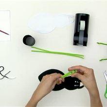 Wie man einen Halloweenspinnen Stiftebecher bastelt
