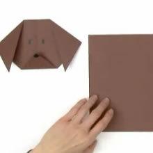 Origami Hund