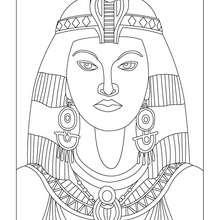 KLEOPATRA KÖNIGIN ÄGYPTENS zum Anmalen