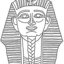 Pharaoh zum Ausmalen