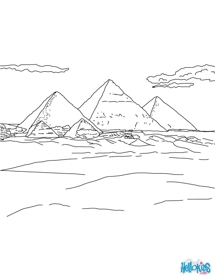 ÄGYPTEN zum Ausmalen - Ausmalbilder - Ausmalbilder ausdrucken - de ...