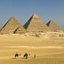 ÄGYPTISCHE PYRAMIDEN Schiebepuzzle für Kinder