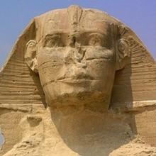 Ägyptische SPHINX  Schiebepuzzle für Kinder