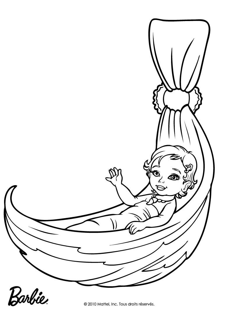 meerjungfrau merliah barbie ausmalbilder  coloring and
