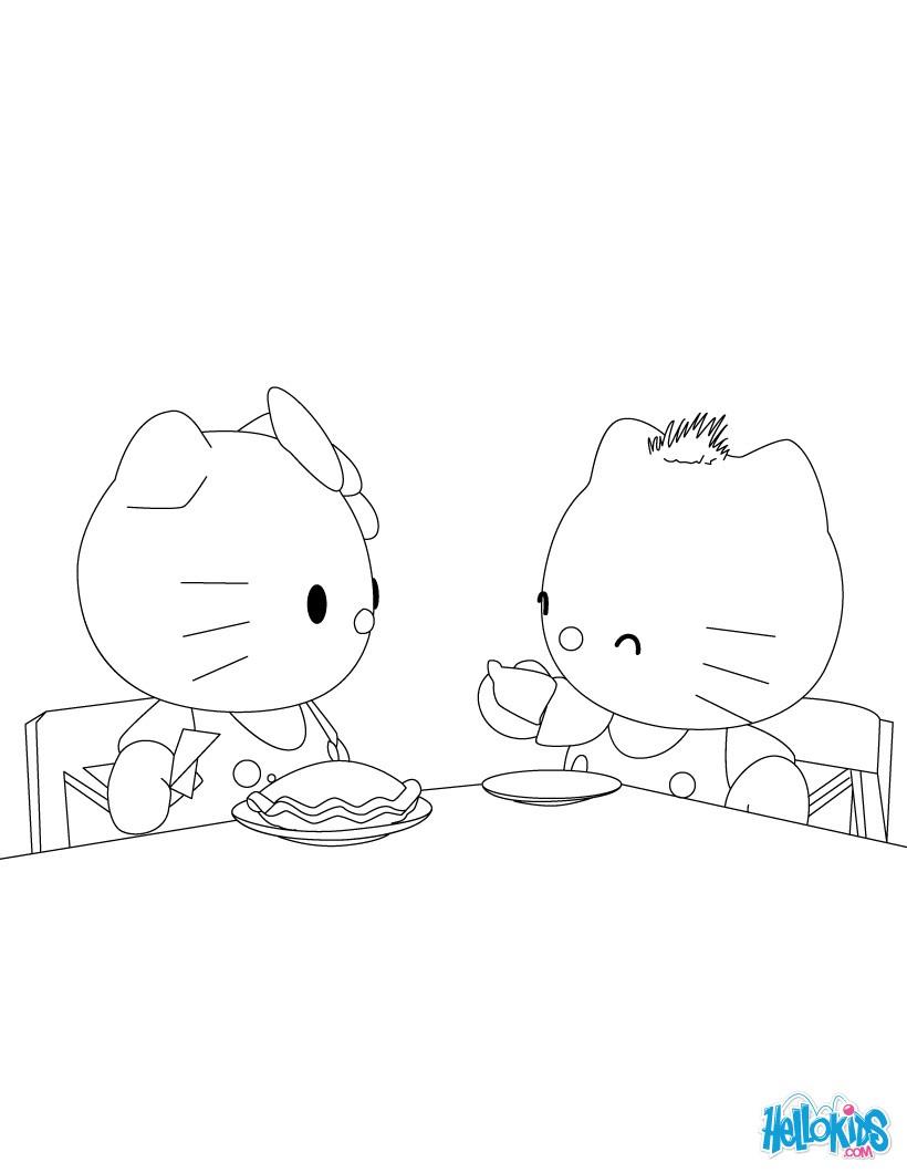 Ausmalbilder Hello Kitty Weihnachten : Hello Kitty Zum Ausmalen De Hellokids Com