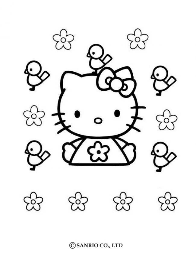 Hello kitty zum ausmalen - de.hellokids.com