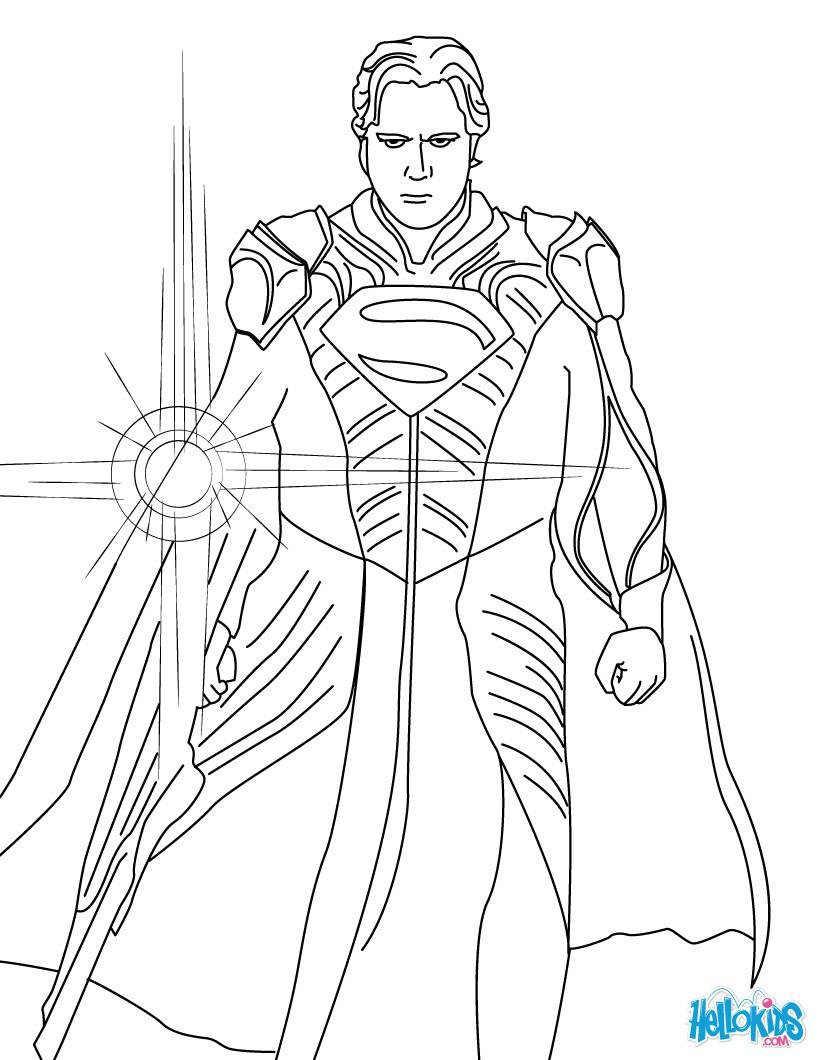 Jar el ausmalbild zum ausmalen - Coloriage superman a imprimer ...