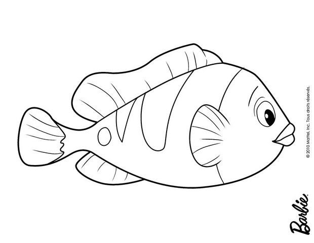 Schner fisch zum ausmalen zum ausmalen  dehellokidscom