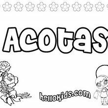 Acotas