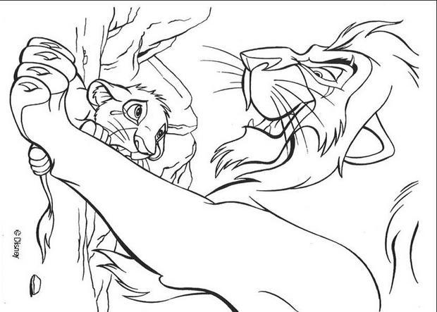 könig der löwen zum ausmalen  imagui