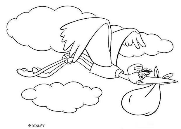Dumbo zum Ausmalen - Ausmalbilder - Ausmalbilder ausdrucken - de ...