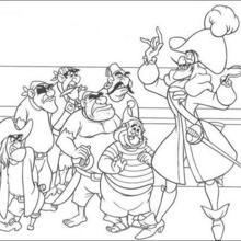 Captain Hook und die Piraten