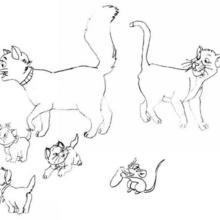 Die Aristocats Familie