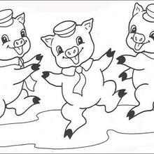 Pfeifer, Fiedler und Schweinchen Schlau