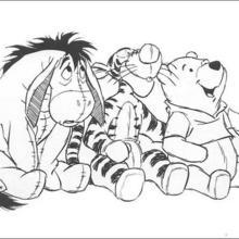 Pus Freunde: Ferkel, I-Aah und Tiger