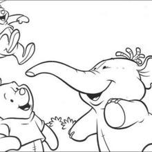 Pus Freunde: Lumpy und Klein-Ruh