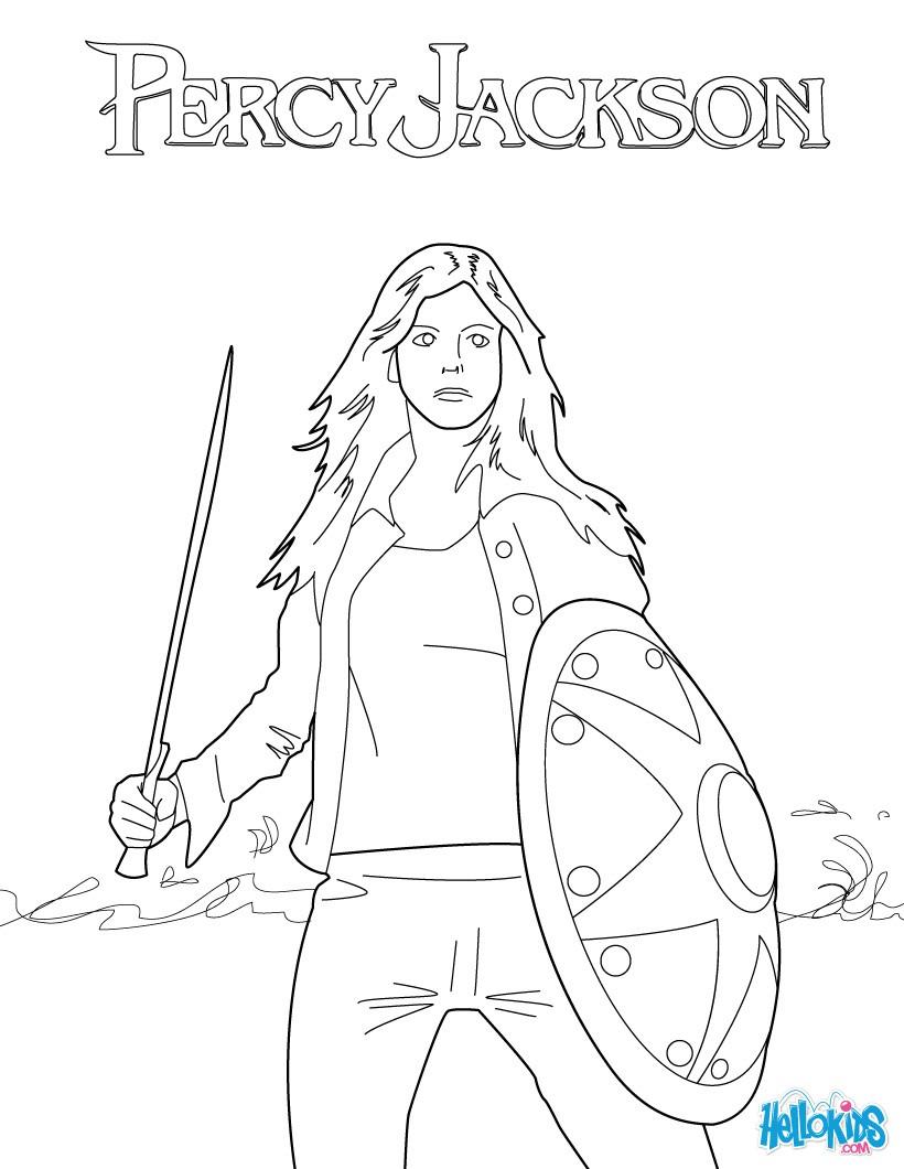 Annabeth chase zum ausmalen dehellokids