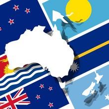 Reconnaître les drapeaux d'Océanie