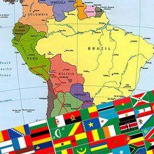 Erkenne die Flaggen des Amerikanischen Kontinents