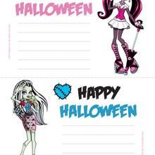 Monster High Einladung