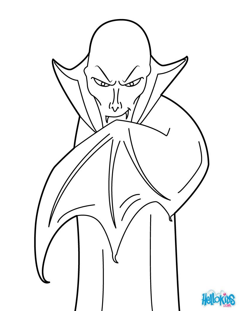 Dracula : Ausmalbilder, Basteln, Bilder für Kinder, Videos für ...