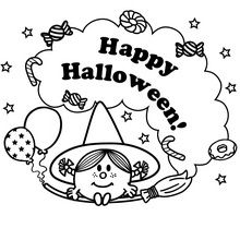 Little Miss Happy Halloween
