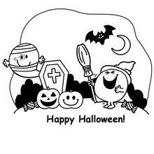 Mr Happy Halloween