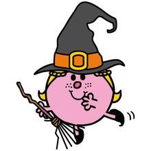 Halloween, MR MEN UND LITTLE MISS zum Ausmalen