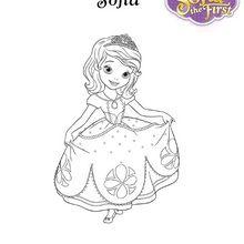 Schöne Prinzessin SOFIA