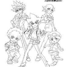BEYBLADE Gang 5 Charaktere