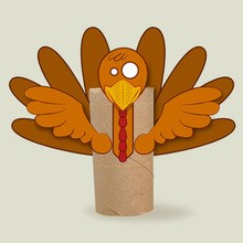 Thanksgiving Serviettenring