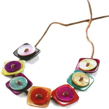 Créer un bracelet avec des boutons de nacre