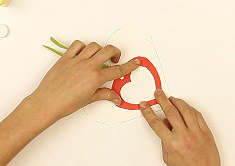 Fabriquer une carte de Saint Valentin
