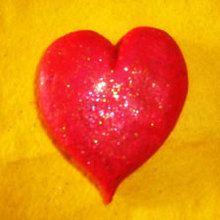 Herz-Briefbeschwerer