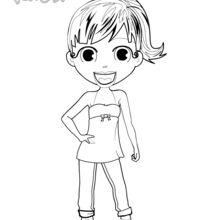 Anna, die Animateurin aus Yodicity