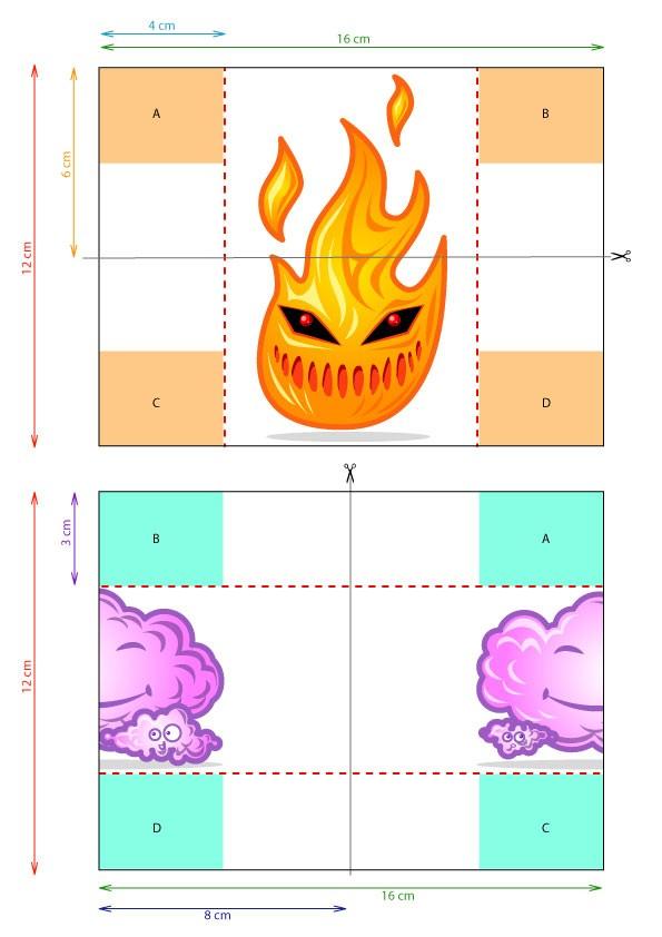Die unendliche Karte der 4 Elemente