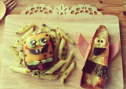 spongebob spiele burger
