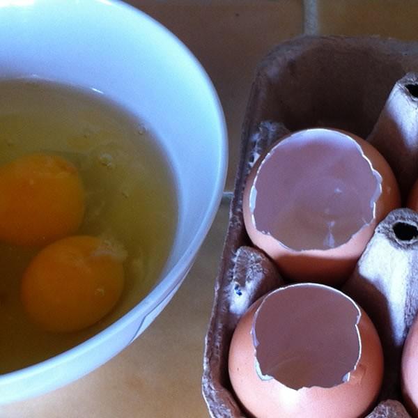 Oeufs farcis au chocolat pour Pâques