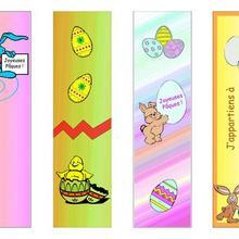 Easter Lesezeichen