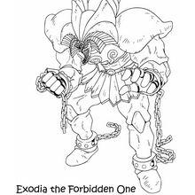 Exodia 1 zum Ausmalen